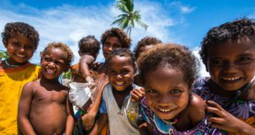 Meet fun loving, joyful children of Papua New Guinea.
