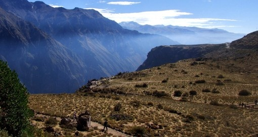 Visit Colca Canyon on your trip to Peru