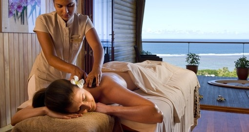 Enjoy a relaxing massage on your Fiji Vacation