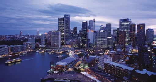 Take in the Sydney Skyline on your trip to Australia