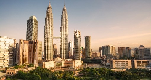 Discover the the city of Kuala Lumpur and all the detailed architecture the city has to offer on your Malaysia Vacation