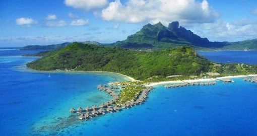 Bora Bora is the second stop on your Tahiti Vacation Package
