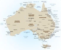 Full Map Of Australia.Australia In Style Sydney Intercontinental Hayman Island Resort