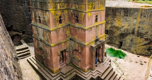 Explore St. George Church in Lalibela during your next Ethiopia vacations.