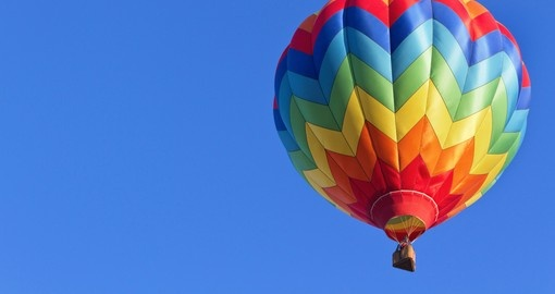 Enjoy hot air balloon ride in Alice Springs during your next Australia tours.
