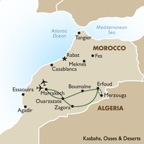 Kasbahs Oases and Deserts