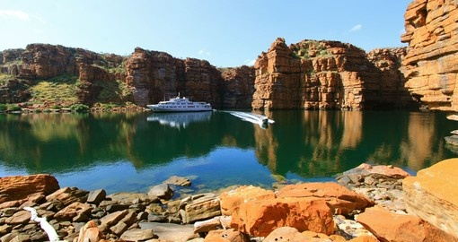 Embark on a Kimberley cruise in Australia