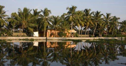 The Kerela Backwaters is a popular destination for India tours.