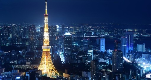 Shop, eat or stroll through the wonderful city of Tokyo on your Japanese Vacation