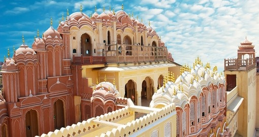 The Palace of Winds is one of the most included destinations when booking our India vacations.