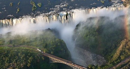 Discover world famous Victoria Falls during your next South Africa vacations.