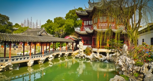 Enjoy the Traditional Yu Gardens on your China Vacation