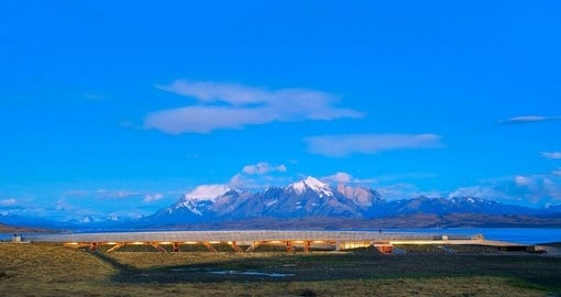 Enjoy panoramic views of Patagonia on