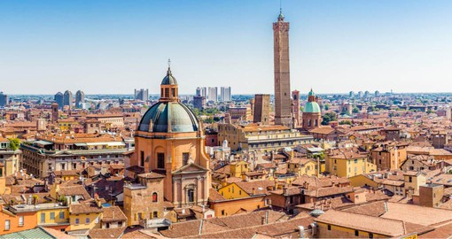 Include a visit to Bologna on your Italian Vacation and visit it's famous towers and churches