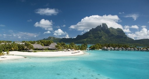 Experience all the amenities of the St. Regis Bora Bora during your next Bora Bora vacations.