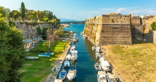Old Byzantine Fortress in Corfu