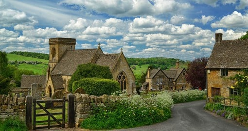 Explore the quintessentially English villages of the Cotswolds
