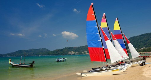 Include a sail boat trip as part of your Thailand Vacation