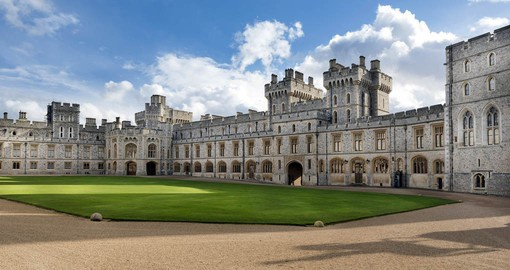 A visit to The Royal Residence at Windsor Castle are a popular part of trips to London