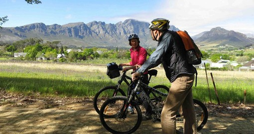 Winelands biking