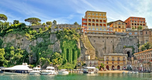 Enjoy the relaxed pace of Sorrento on your Italy tour