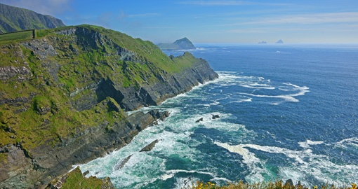 Kerry Cliffs, Skelligs and Penguin Island, The Ring of Kerry, Ireland