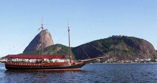 Guanabara Bay is second-largest in Brazil, but the depth of the bay makes it the deepest in the world