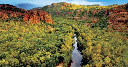 The Kakadu National Park is a nature lovers paradise where they can fully enjoy their Australian Vacation