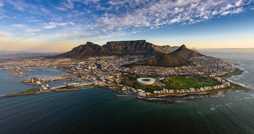 Take in all the natural scenic beauty of Cape Town on your South Africa vacation