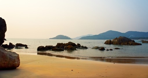 Stunning scenery in Goa