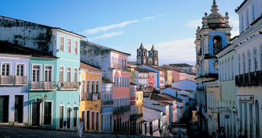 Take in a typical Salvador Street scene on your Brazil Tour