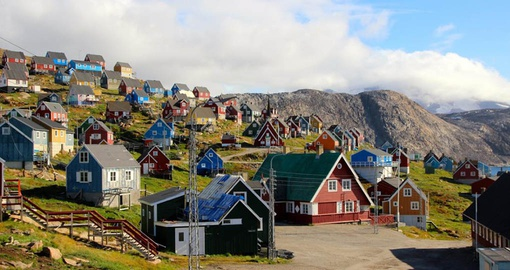 Greenland is home to many remote and colourful communities