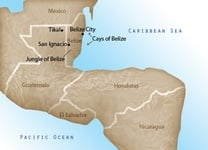 Belize Destination Map