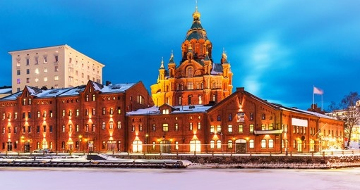 Enjoy Helsinki on your trip to Finland
