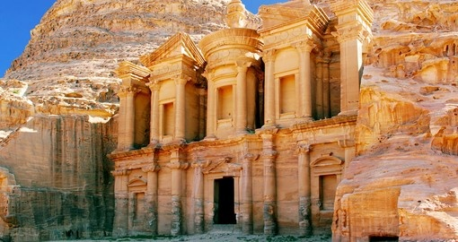 Seeing The Monastery is the highlight of Petra tours.