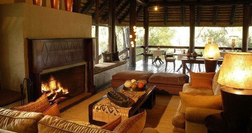 Explore all the amazing amenities of the Sabi Sabi Little Bush Camp during your South Africa vacations.