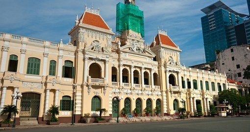 See bustling Ho Chi Minh city on your Asian Tour