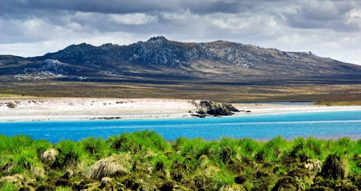 Surrounded by the South Atlantic, the Falkland Islands have been settled and claimed by France, Spain, Britain and Argentina