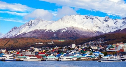 Your Antarctica Cruise begins in Ushuaia on Tierra del Fuego which is a coastal Argentinian town close to the arctic circle