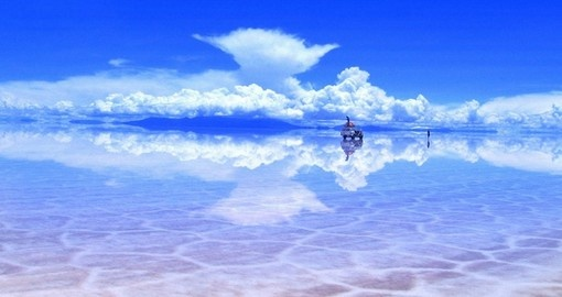 Tour the Uyuni Salt Flats on your trip to Boliviia