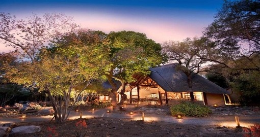 Your 4 day South Africa vacation features &Beyond Ngala Safari Lodge