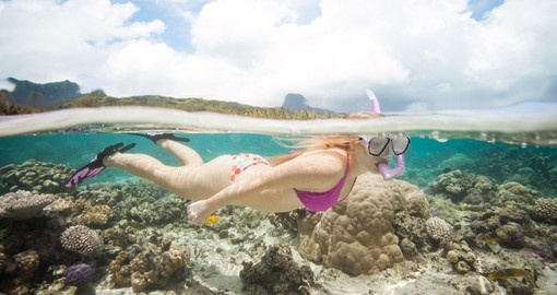 Learn snorkeling at Pacific Resort Rarotonga during your next Cook Island vacations.