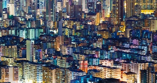 Hong Kong has the most high rise buildings in the world