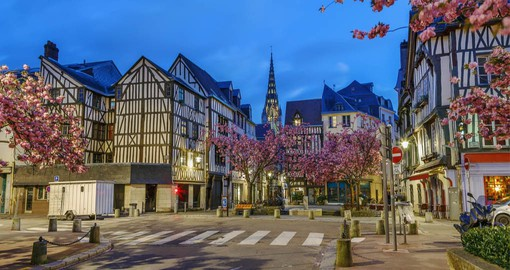 Rouen is Normandy's cultured, historic, gastronomic, vibrant capital