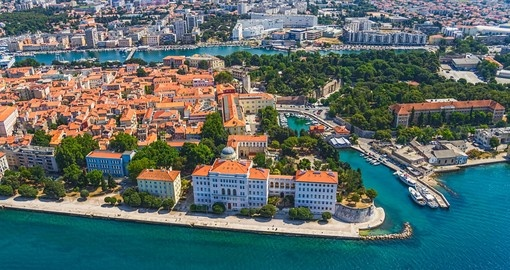 Your Croatia vacation package begins in Zadar