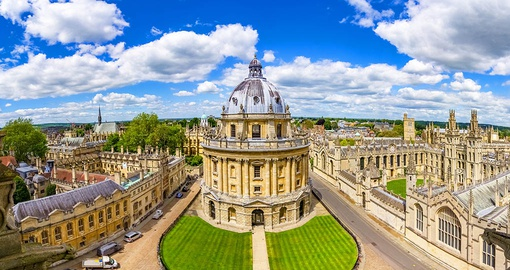 Visit some of Oxford's most famous landmarks on your England vacation