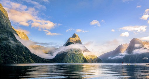 Milford Sound is by far the best known of all of New Zealand's fiords