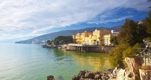Relax on the Opatija seaside on your Croatia Vacation