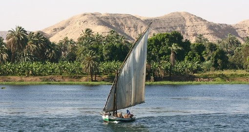 See life on the River Nile