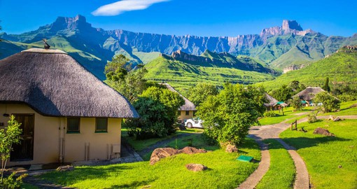 A World Heritage Site since 2001, the Ukhahlamba Drakensberg Park is one of South Africa's prime ecotourist destinations